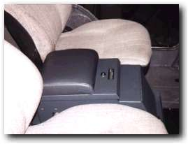 Tuffy Super Secure Center Console