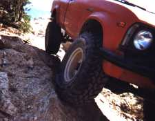 Bridgestone/Firestone's Dueler M/T on the rocks