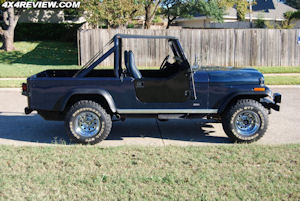 Project Over Easy - 1981 Jeep CJ8 Scrambler