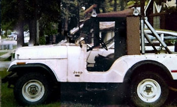 Project Over Easy - 1975 Jeep CJ5