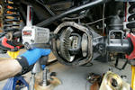 Dana 44 axle rebuild with air locker and new gears from Yukon Gear and Axle