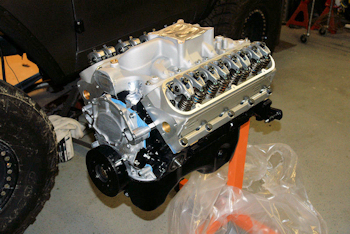 Dominator Engine and Holley Fuel Injection