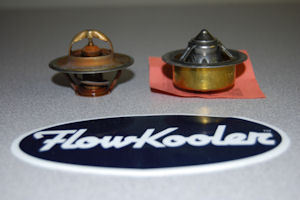 Flowkooler waterpump and robertshaw thermostat