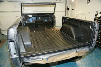 Hushmat installed in 1975 Ford Bronco