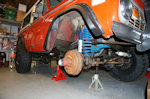 Skyjacker five inch Suspension System for Early Ford Broncos