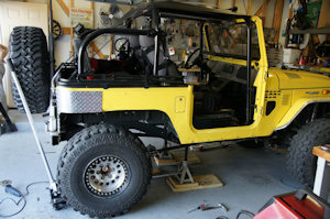 Proffitt's Cruisers FJ40 4-Link Kit