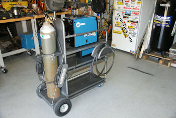 Custom Welding Cart