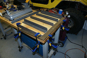 Homemade plasma cutting table