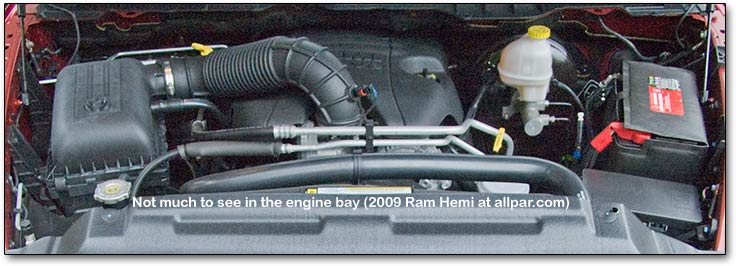 2009 Dodge Ram 1500 Hemi engine