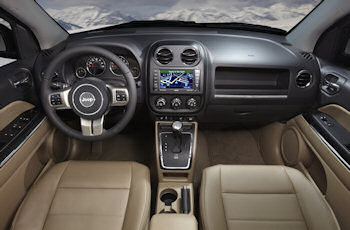2011 Jeep Compass Interior