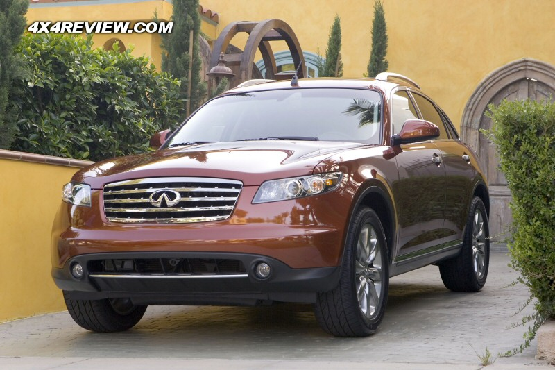 2008 Infiniti FX35. And now for something completely different.