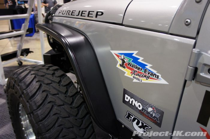 Pure Jeep Tube Fender Jeep Wrangler JK Narrow